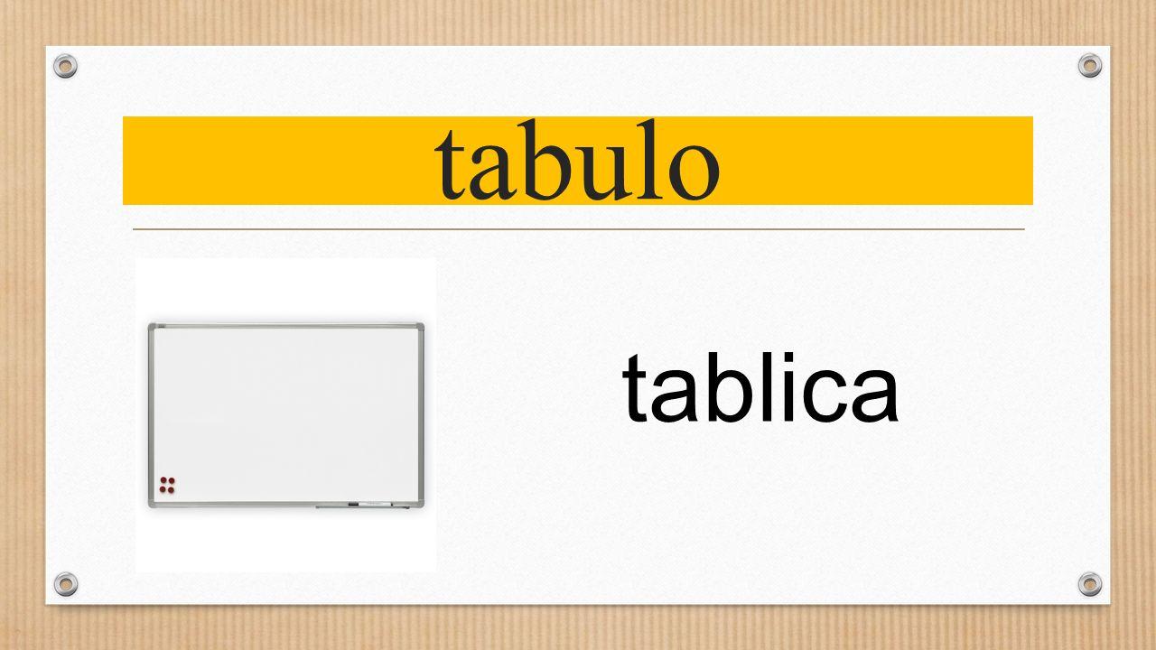 tabulo tablica