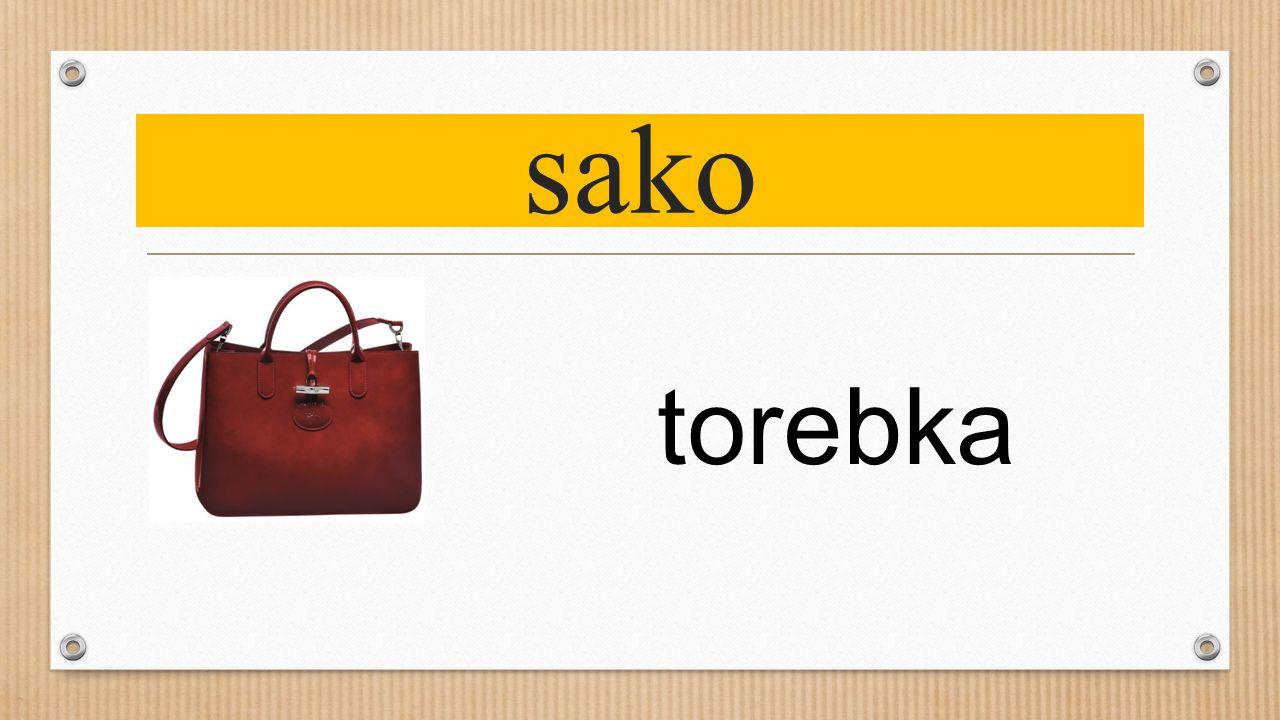 sako torebka