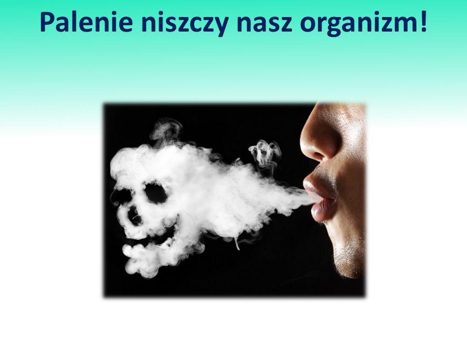 Palenie niszczy nasz organizm!