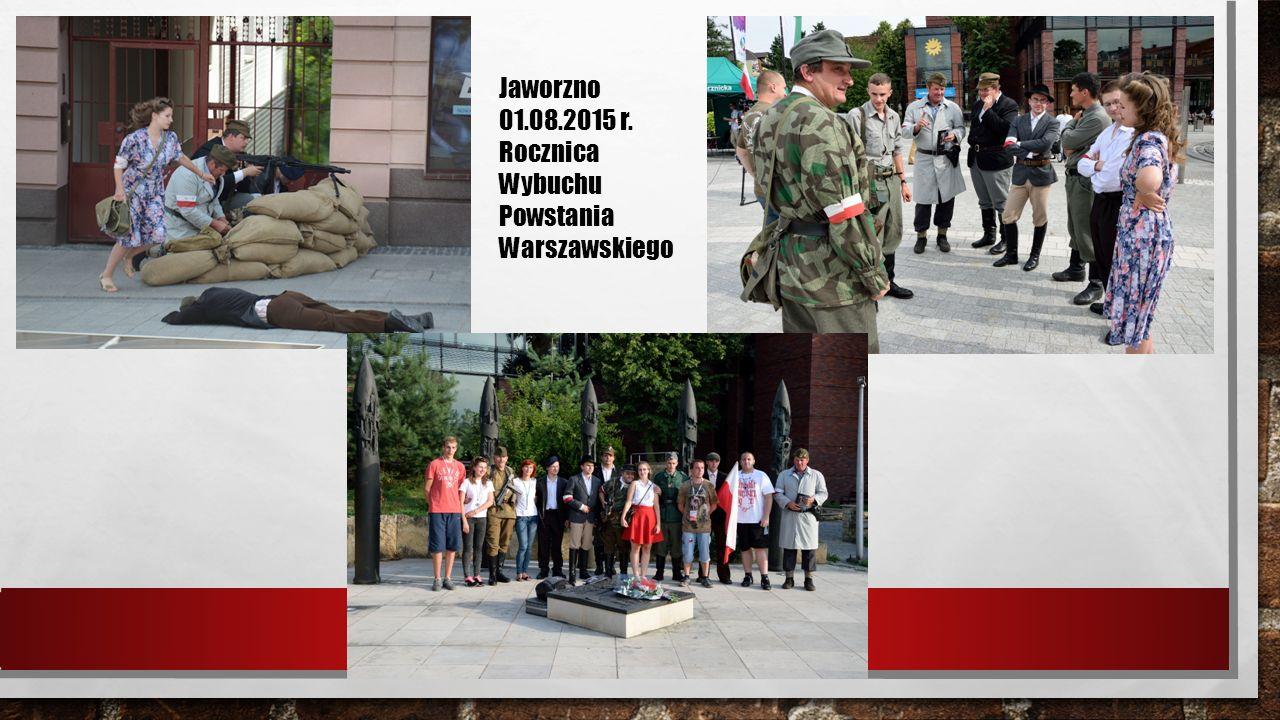 Pola Chwały w Niepołomicach 25-27.09.2015r. Noc Muzeów Kraków 15/16.05.2015r.