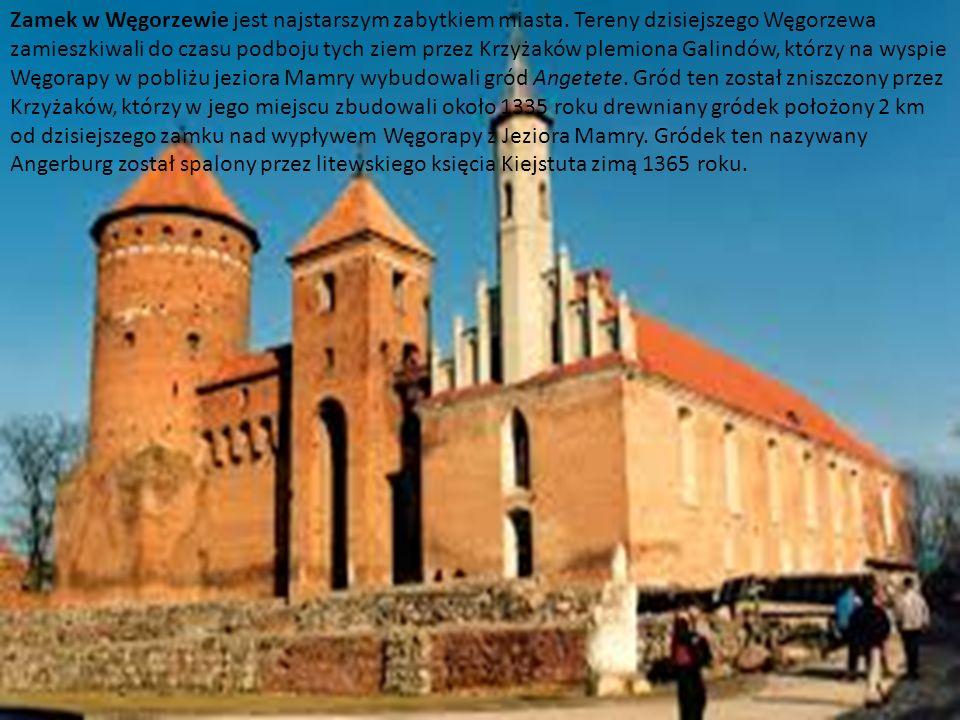 http://www.zamkipolskie.com/dzial/002.jpgZamek w Węgorzewie jest najstarszym zabytkiem miasta. Tereny dzisiejszego Węgorzewa zamieszkiwali do czasu po