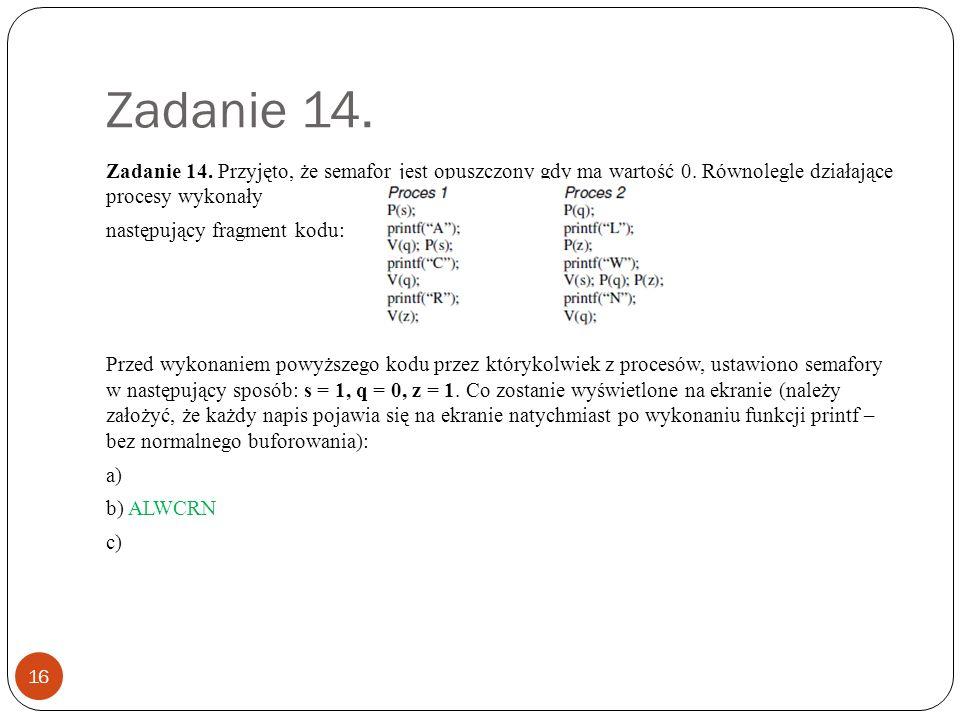 Zadanie 15.17 Zadanie 15.
