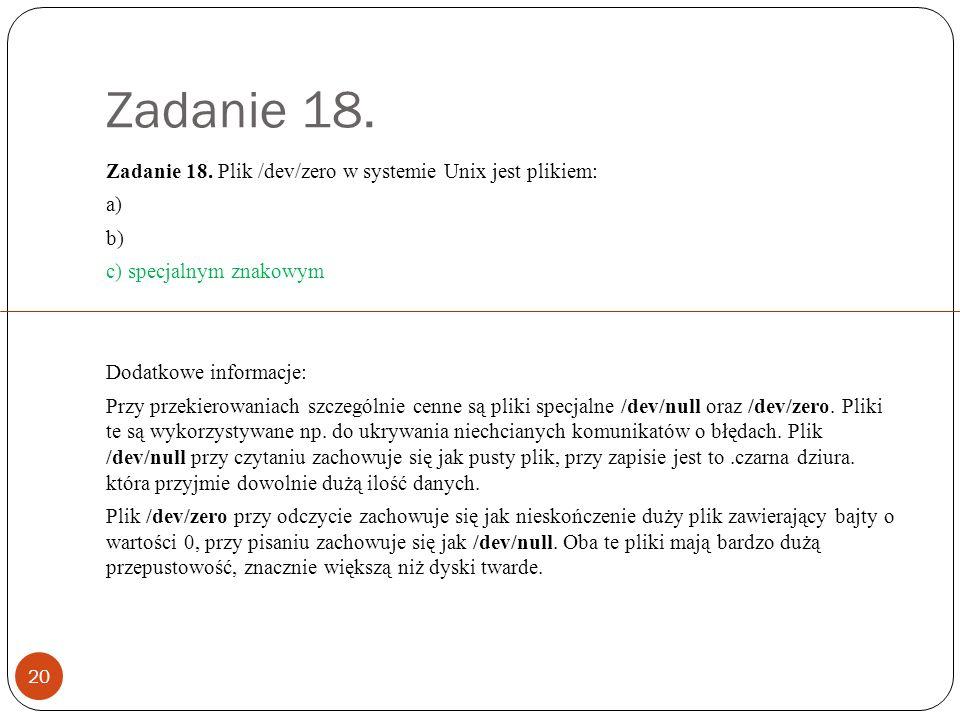 Zadanie 19.21 Zadanie 19.