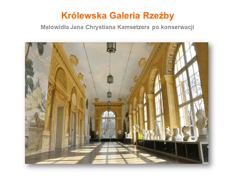 Konserwacja 241 rzeźb z Królewskiej Kolekcji, 2013-2015 Królewska Galeria Rzeźby