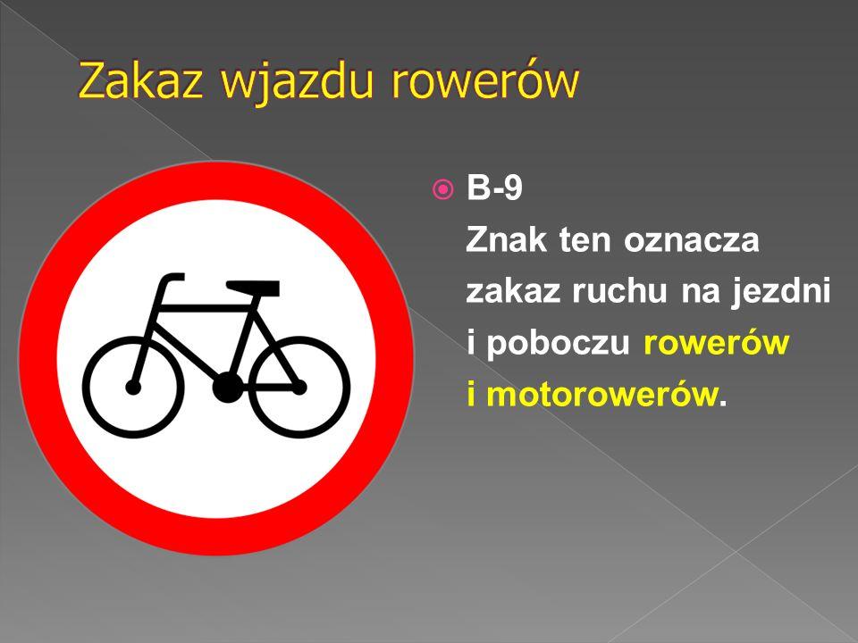 Znak ten oznacza zakaz postoju pojazdów po danej stronie jezdni w nieparzyste dni miesiąca.