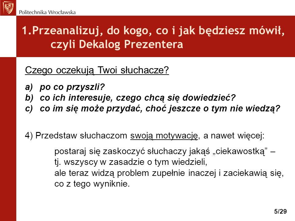 4.Przećwicz i … skróć prezentację.