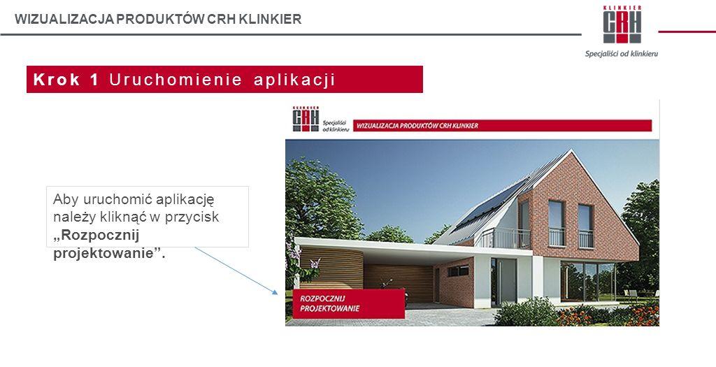 WIZUALIZACJA PRODUKTÓW CRH KLINKIER Krok 2 Gotowe przykłady Aby zrozumieć szczegóły działania aplikacji, polecamy zapoznanie się z gotowymi przykładami projektów budynków jednorodzinnych.