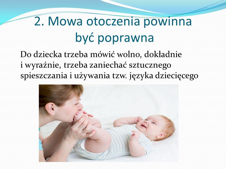 1. Narządy mowy zaczynają funkcjonować w życiu płodowym dziecka Narządy mowy dziecka kształtują się i zaczynają funkcjonować już w życiu płodowym. Są