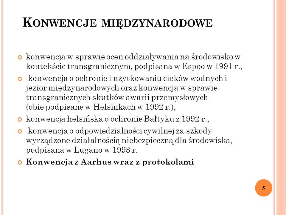 D YREKTYWA 2003/4/WE Najbardziej istotny akt prawny dotyczący udostępniania informacji o środowisku przez organy państw członkowskich 6 Wdrożona aktualnie przez uuiś