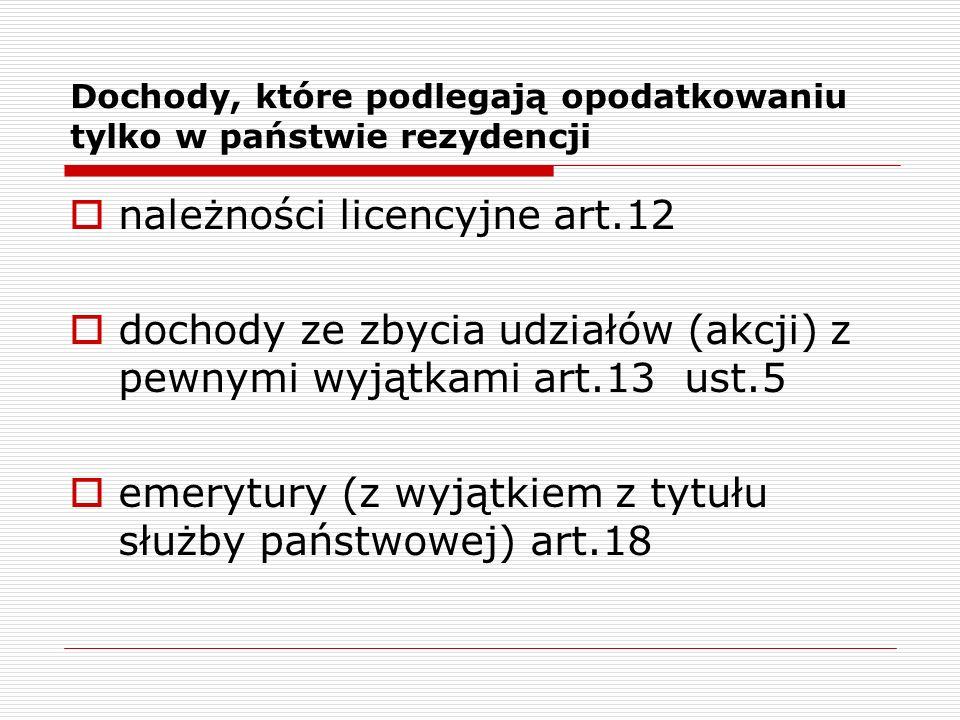 Kazus  Czy w związku ze świadczeniem przez Skarżącego na terytorium Polski na podstawie umowy wsparcia technicznego usług nadzoru, wsparcia i doradztwa oraz usług dodatkowych, Skarżący będzie posiadał zakład w rozumieniu art.