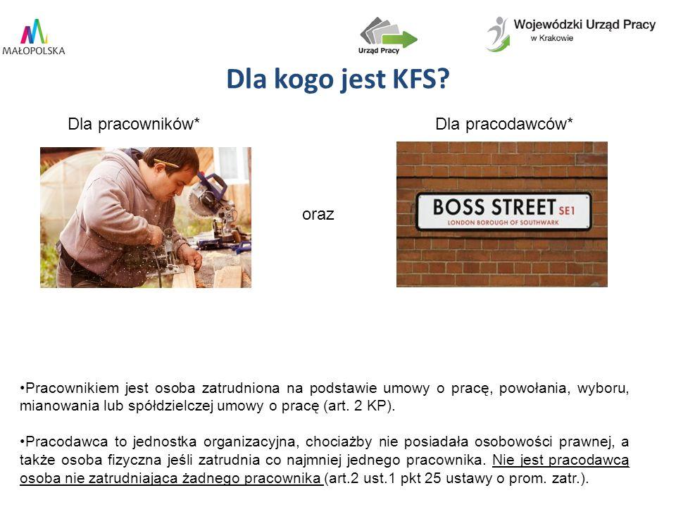 Dla kogo jest KFS.