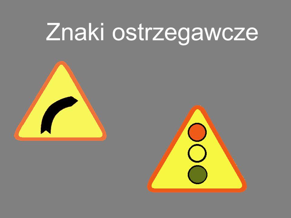 Odcinek jezdni o ruchu dwukierunkowym Znak ten ostrzega jadących jezdnią jednokierunkową o miejscu, w którym rozpoczyna się ruch dwukierunkowy.