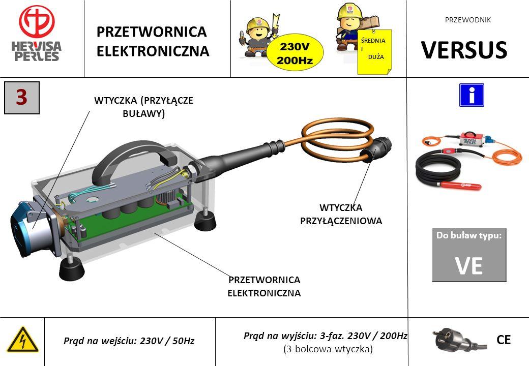 PRZEWODNIK RUNNER PLUS ELEKTRONICZNA BUŁAWA WYSOKIEJ CZĘSTOTLIWOŚCI 220-240v / 50-60Hz 110-130v / 50-60Hz CE Długość węża 3 Prąd wejścia Prąd na wyjściu PRZETWORNICA CHRONIONA PRZED: · przegrzaniem · zwarciem · wahaniami prądu · wilgocią (włącznik chroniony do IP67) MIMOŚRÓD SILNIK OPONA WĘŻA WTYCZKA PRZYŁĄCZENIOWA 230V/50Hz WŁĄCZNIK ŚREDNIA I DUŻA PRZETWORNICA ELEKTRONICZNA