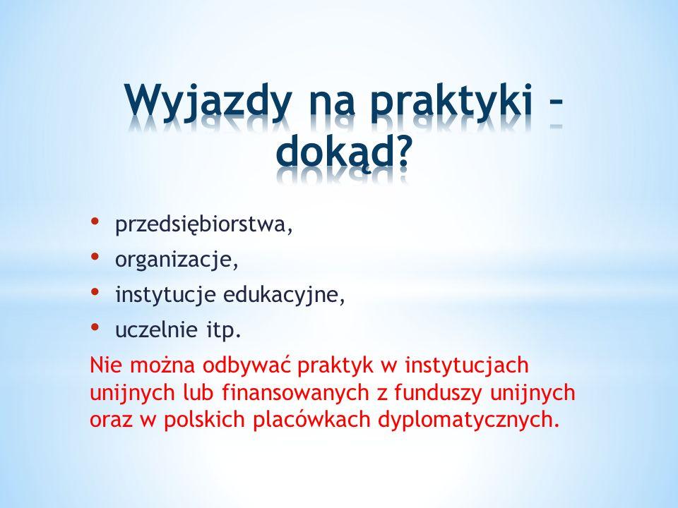 przedsiębiorstwa, organizacje, instytucje edukacyjne, uczelnie itp.