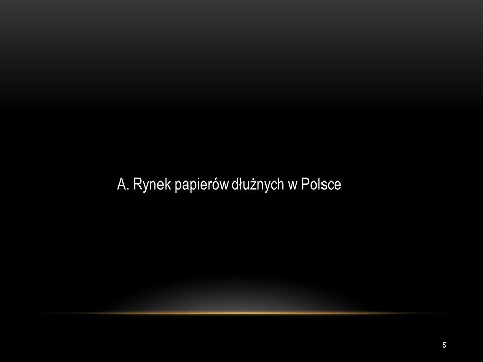 A. Rynek papierów dłużnych w Polsce 5