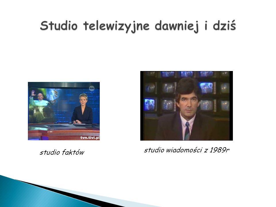 studio faktów studio wiadomości z 1989r