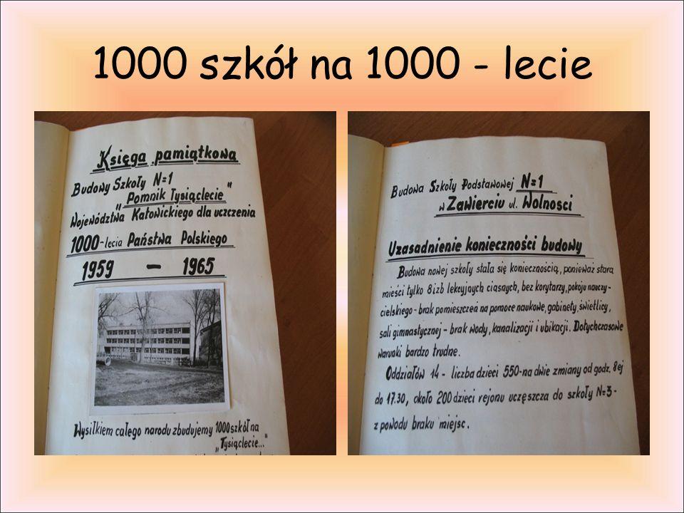 1000 szkół na 1000 - lecie