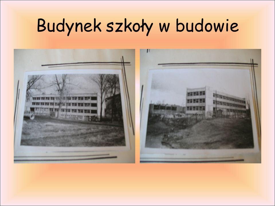 Budynek szkoły w budowie