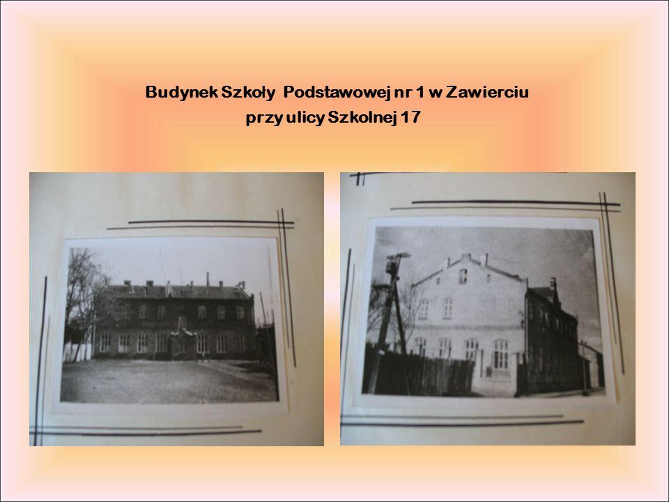 Budynek Szko ł y Podstawowej nr 1 w Zawierciu przy ulicy Szkolnej 17