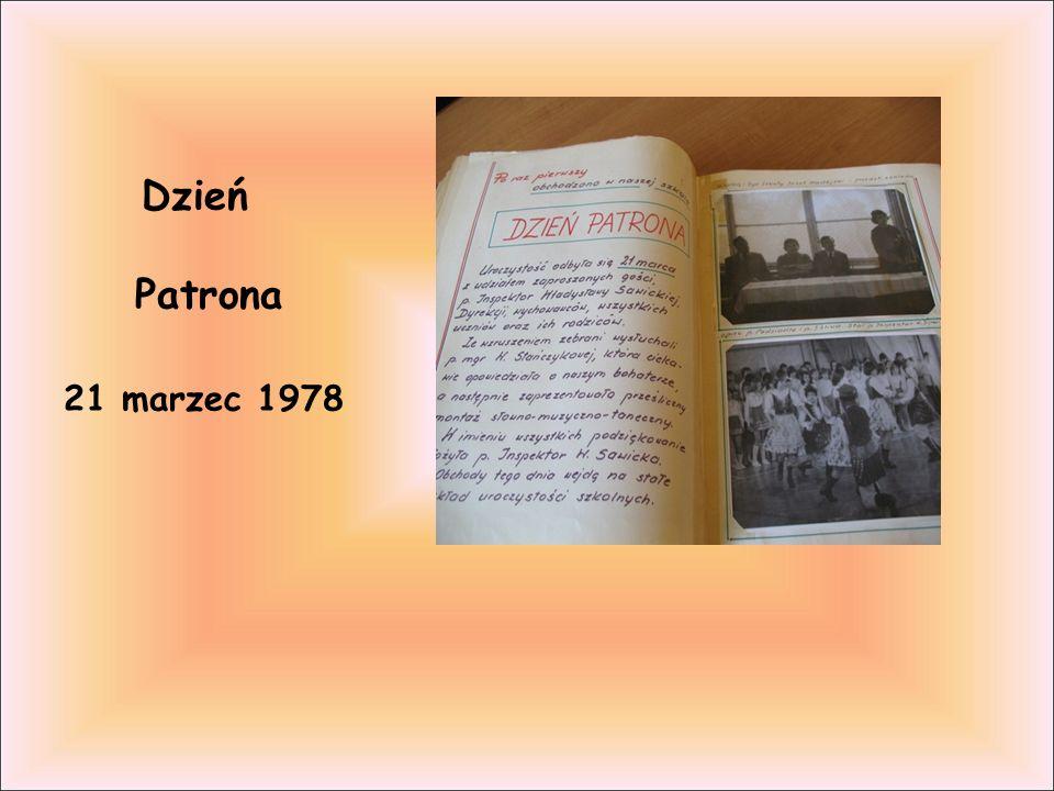 Dzień Patrona 21 marzec 1978
