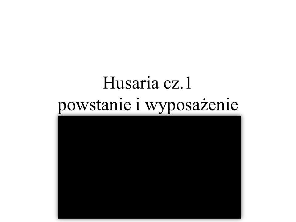Husaria cz.1 powstanie i wyposażenie