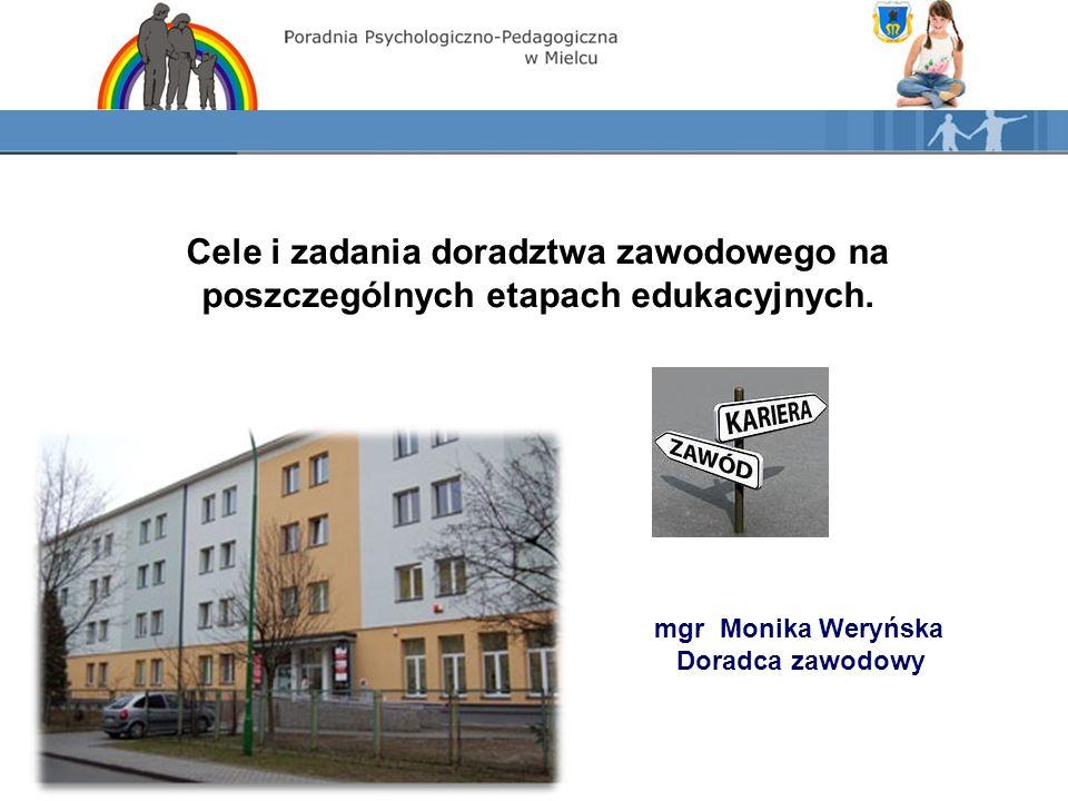 Podstawy prawne doradztwa zawodowego w Polsce.Ustawa z dnia 7 września 1991 r.