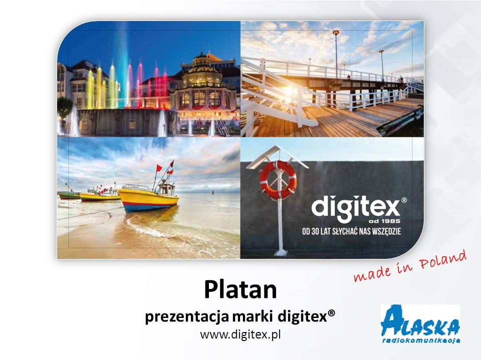 made in Poland Platan prezentacja marki digitex® www.digitex.pl