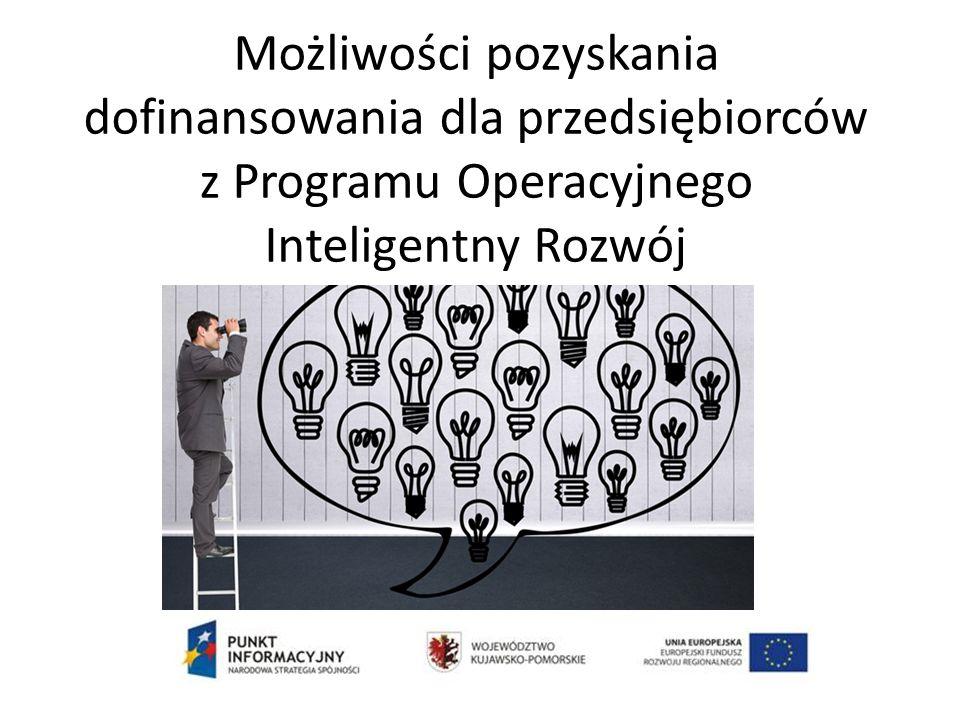 PI 3.a - Promowanie przedsiębiorczości, w szczególności poprzez ułatwianie gospodarczego wykorzystywania nowych pomysłów oraz sprzyjanie tworzeniu nowych firm, w tym również przez inkubatory przedsiębiorczości Przykładowe typy projektów: 1.