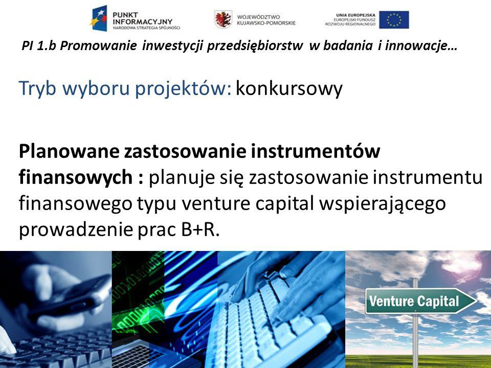 Oś priorytetowa II WSPARCIE OTOCZENIA I POTENCJAŁU PRZEDSIĘBIORSTW DO PROWADZENIA DZIAŁALNOŚCI B+R+I Alokacja: 1 265 287 500,00 EURO