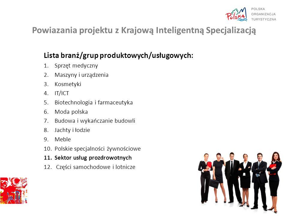 Opis projektu Cel : Celem projektu jest upowszechnianie przekazu o wysokiej jakości polskich marek produktowych z obszarów wpisujących się w Krajowe Inteligentne Specjalizacje oraz kontynuowanie działań przyczyniających się do umacniania pozytywnego wizerunku Polski i polskiej gospodarki na rynkach zagranicznych.