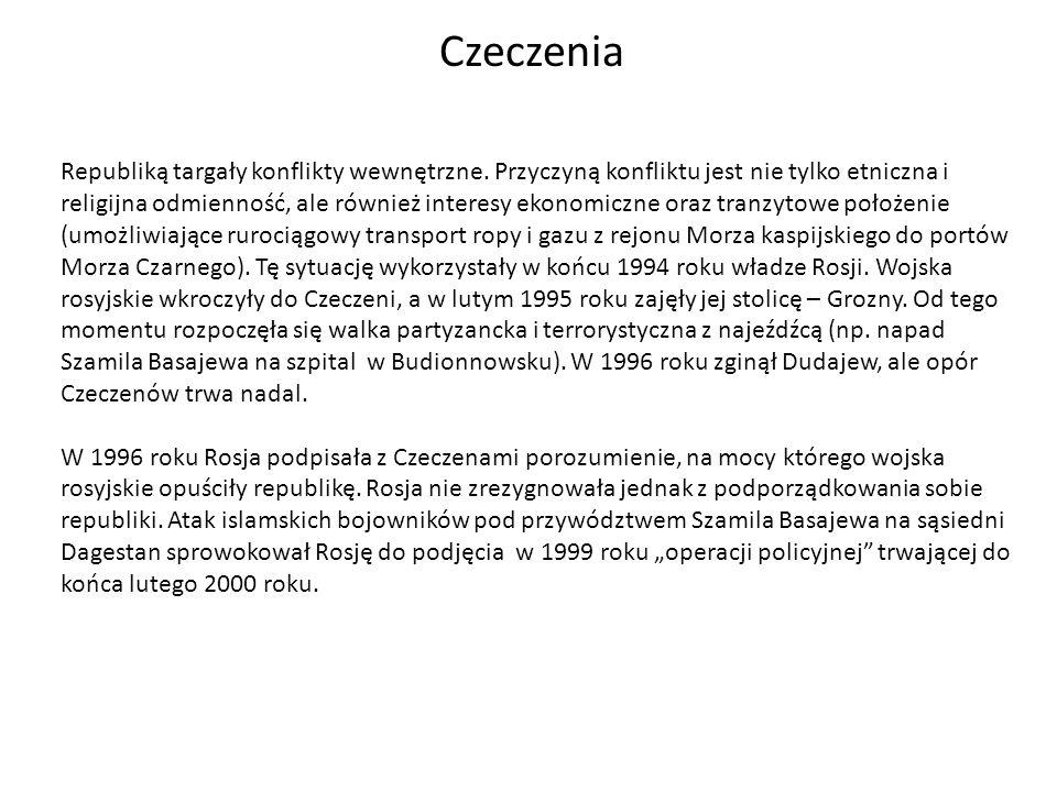 Rwanda Konflikt rwandyjski jest przykładem konfliktu etnicznego.