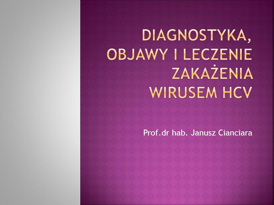 Prof.dr hab. Janusz Cianciara