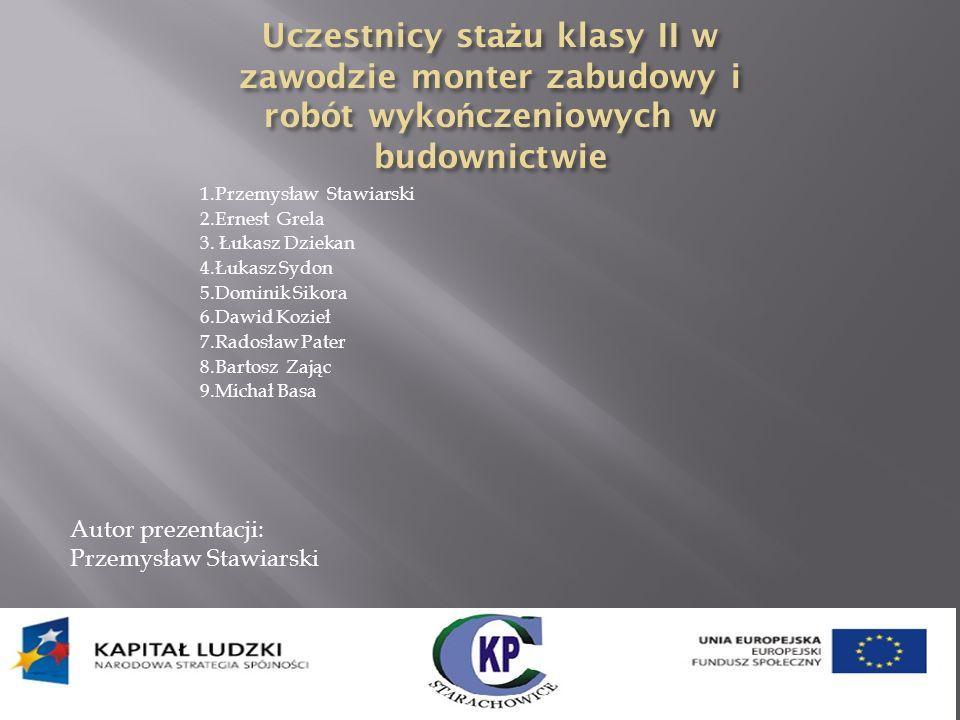 Dominik Sikora Przemysław Stawiarski Łukasz Sydon Bartosz Zając