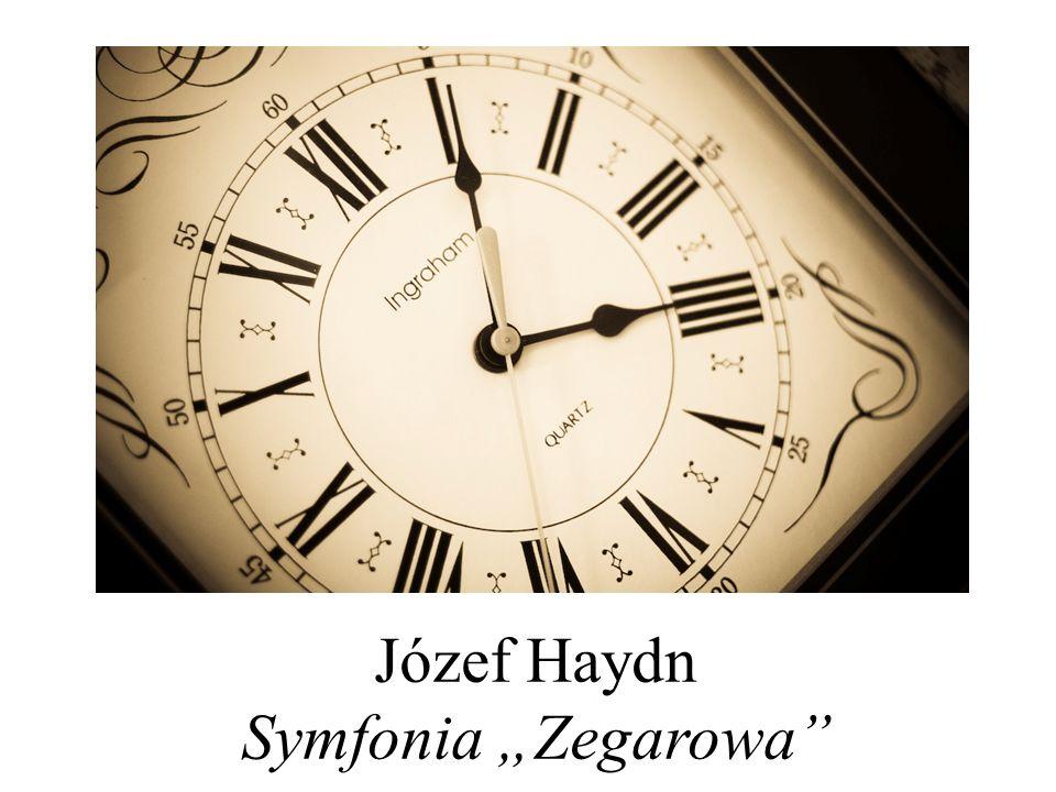 """Józef Haydn Symfonia """"Zegarowa"""""""