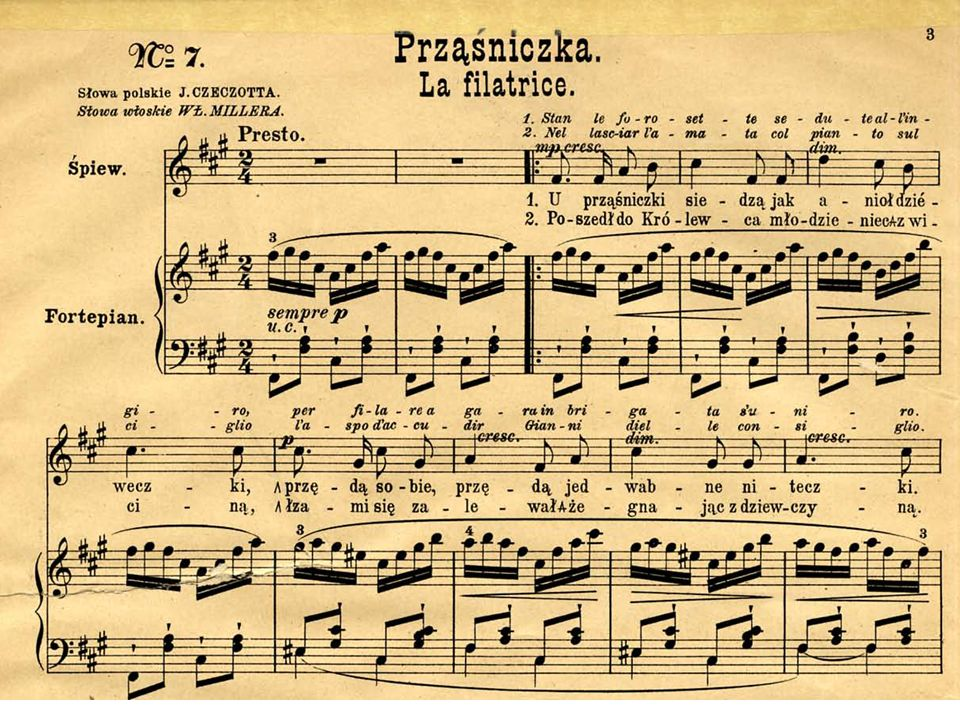 Franciszek Schubert Małgorzata przy kołowrotku