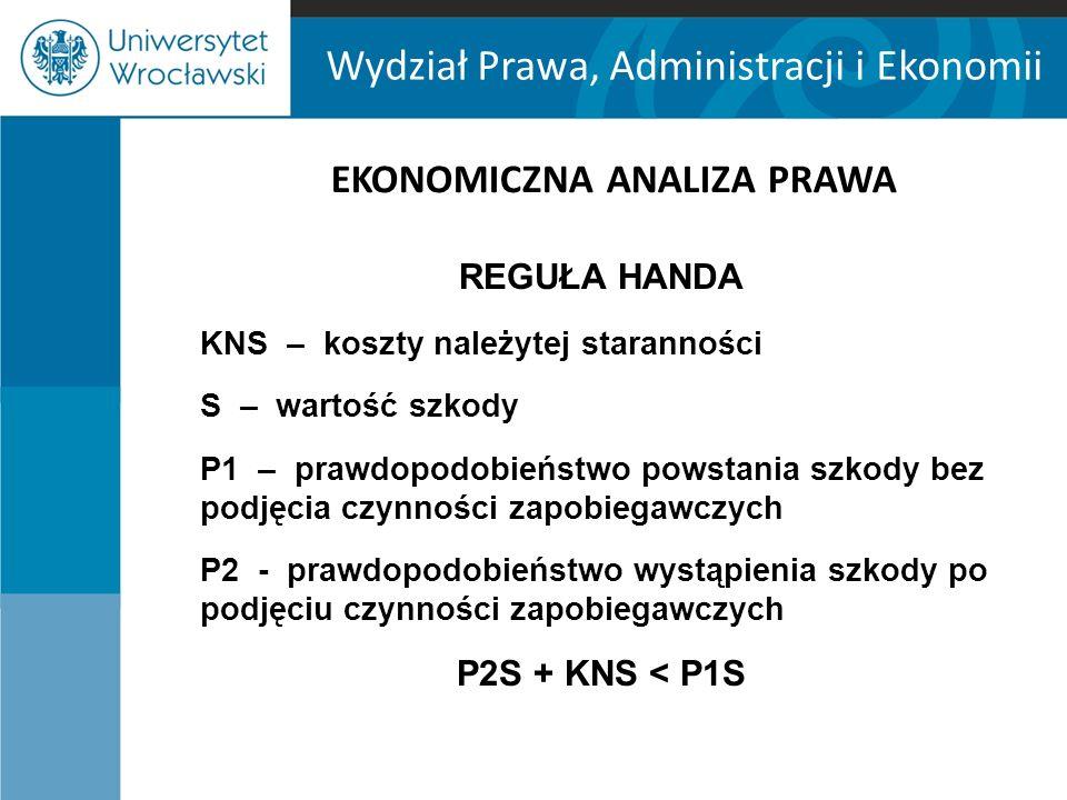 Wydział Prawa, Administracji i Ekonomii A.Tversky i D.