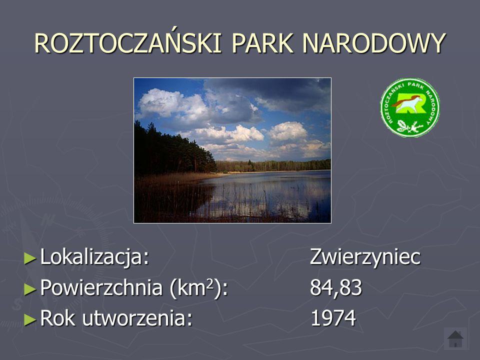 POLESKI PARK NARODOWY ► Lokalizacja: Urszulin ► Powierzchnia (km 2 ): 97,62 ► Rok utworzenia: 1990