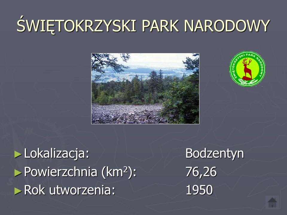 SŁOWIŃSKI PARK NARODOWY ► Lokalizacja: Smołdzino ► Powierzchnia (km 2 ): 186,18 ► Rok utworzenia: 1967