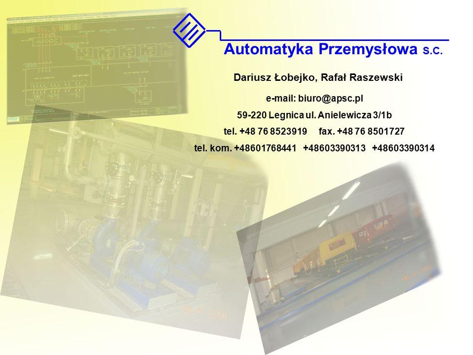 e-mail: biuro@apsc.pl 59-220 Legnica ul.Anielewicza 3/1b tel.