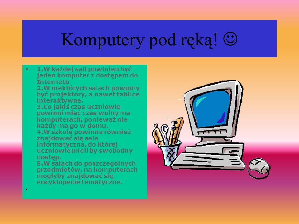 Jak zapewnić dostępność komputerów w sieci i w szkole.