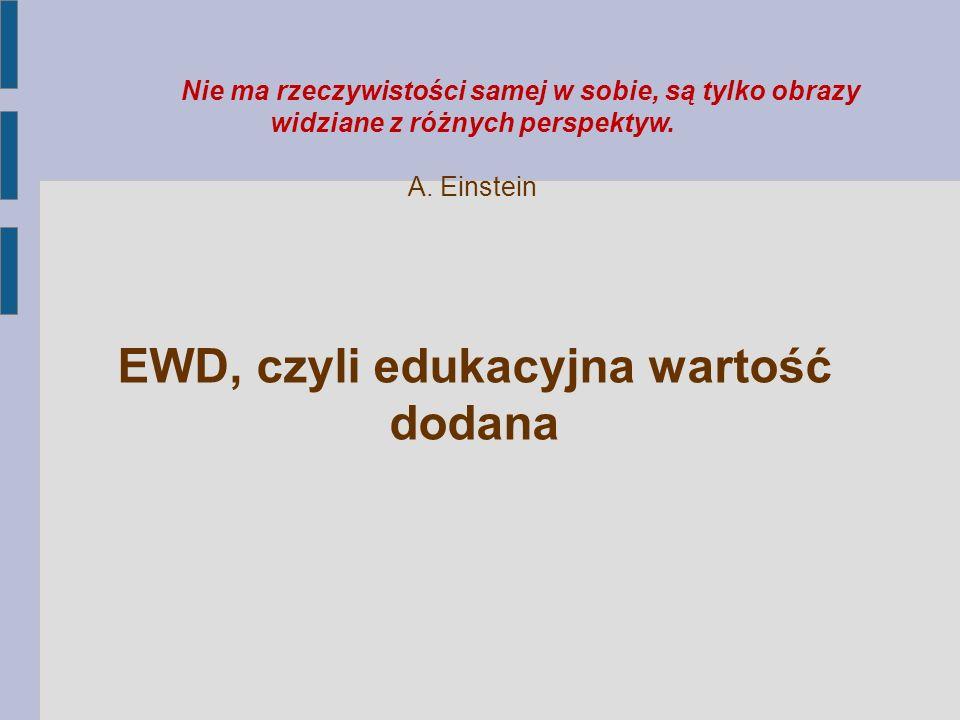Wykorzystanie metody EWD warunkują wiedza (znajomość metody i jej możliwości) umiejętności analityczne postawy (stopień akceptacji, zaufanie do metody, emocje, otwartość na uczenie się)