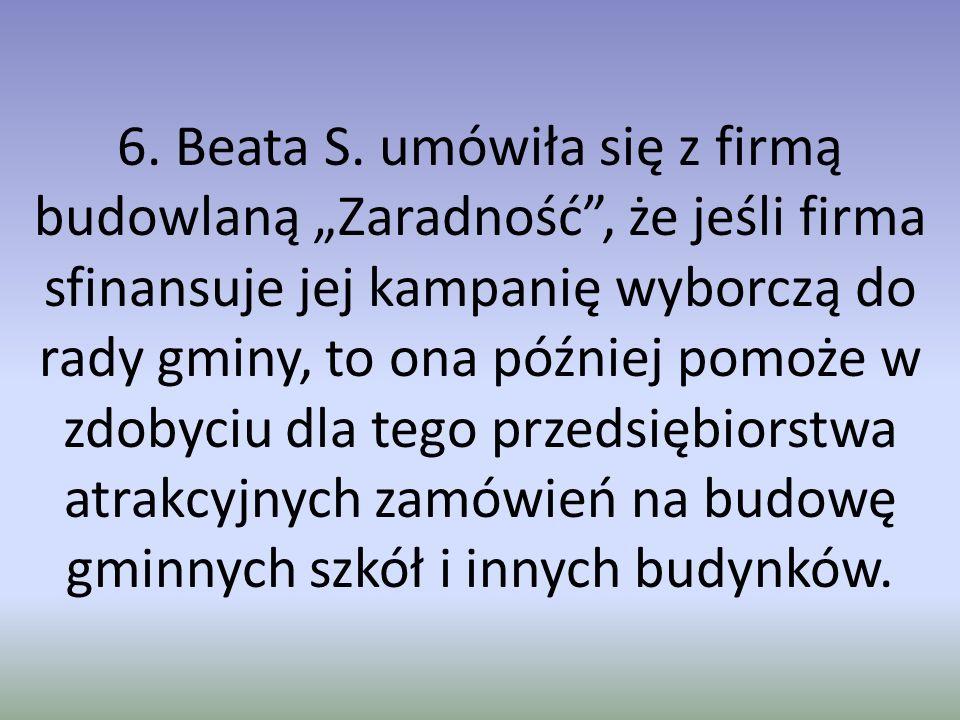 6. Beata S.