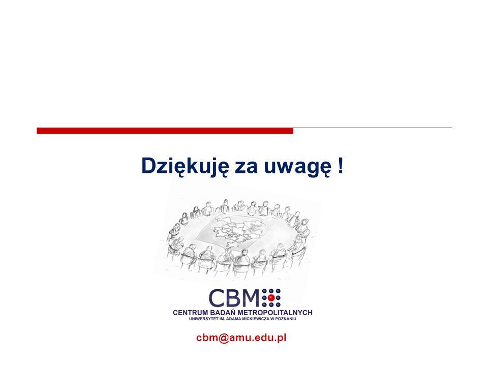 Dziękuję za uwagę ! cbm@amu.edu.pl