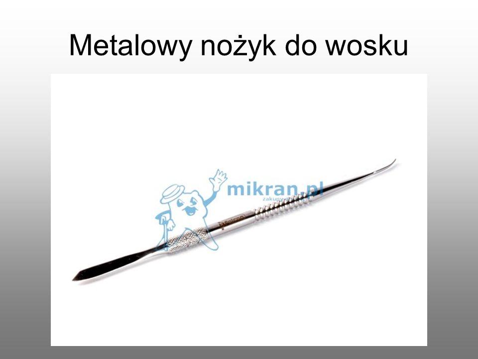 Metalowy nożyk do wosku