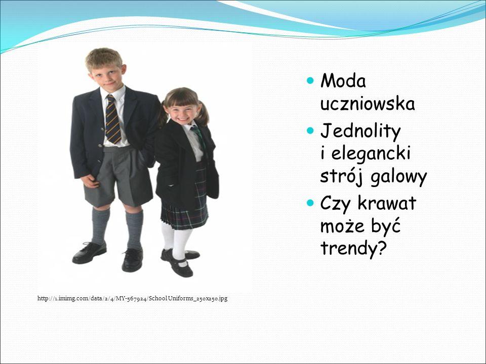 http://1.imimg.com/data/2/4/MY-567924/School Uniforms_250x250.jpg Moda uczniowska Jednolity i elegancki strój galowy Czy krawat może być trendy?