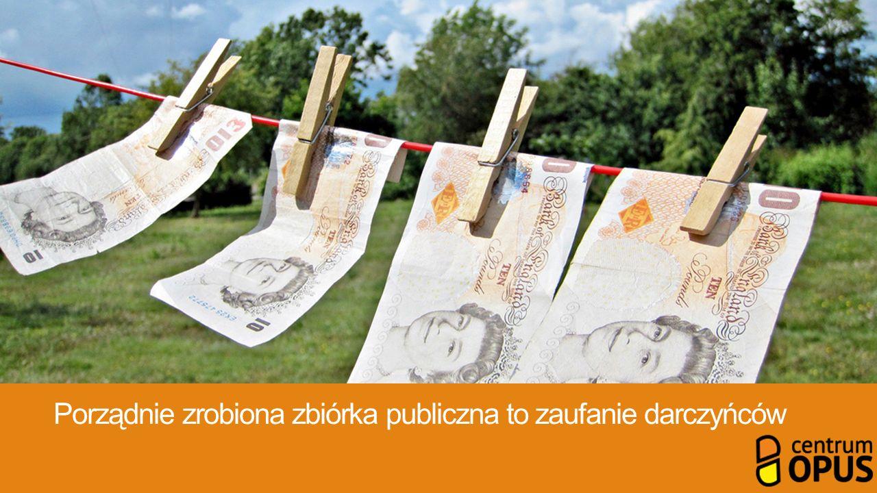Porządnie zrobiona zbiórka publiczna to zaufanie darczyńców