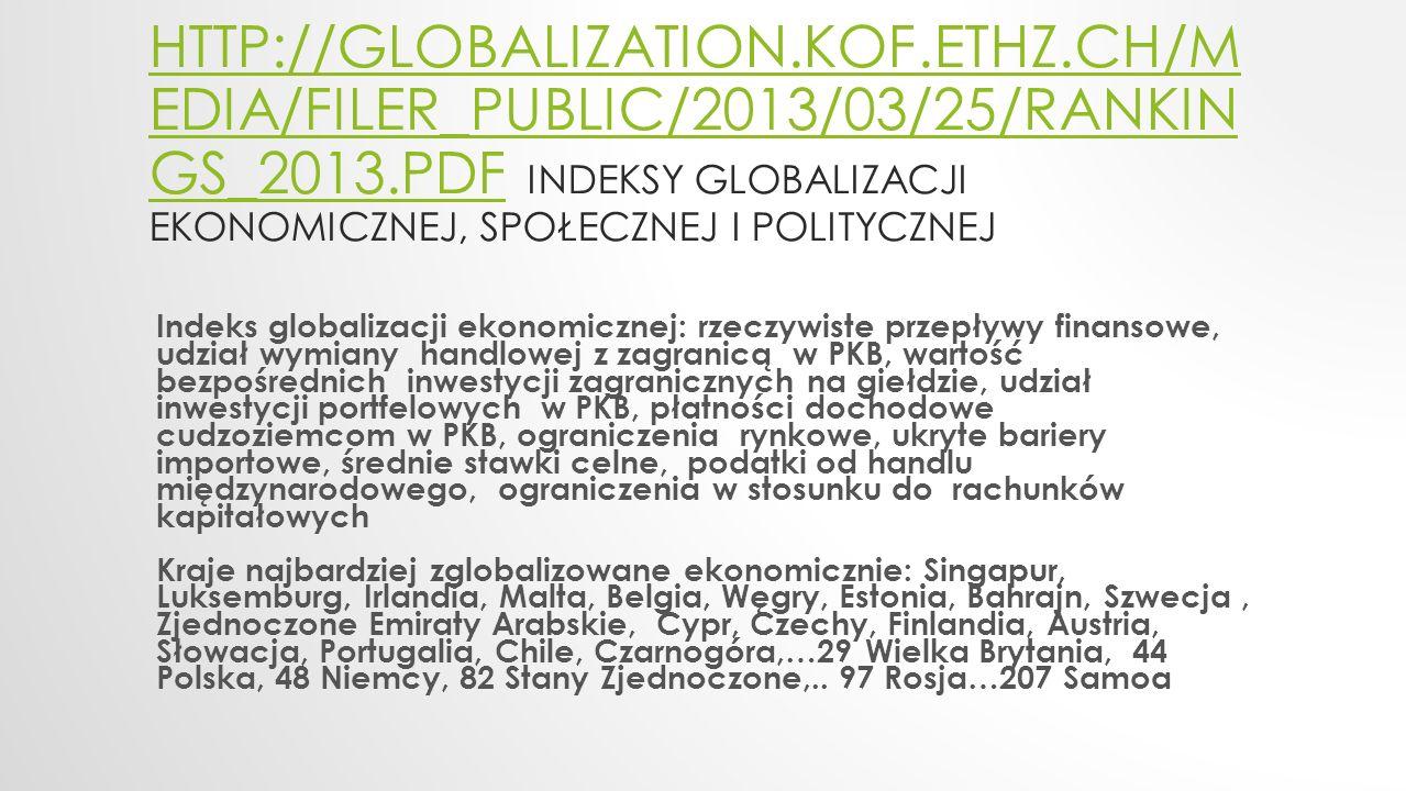HTTP://GLOBALIZATION.KOF.ETHZ.CH/M EDIA/FILER_PUBLIC/2013/03/25/RANKIN GS_2013.PDFHTTP://GLOBALIZATION.KOF.ETHZ.CH/M EDIA/FILER_PUBLIC/2013/03/25/RANK