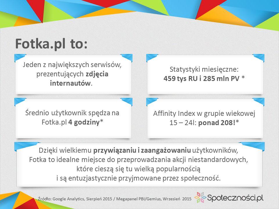Fotka.pl to: Jeden z największych serwisów, prezentujących zdjęcia internautów.