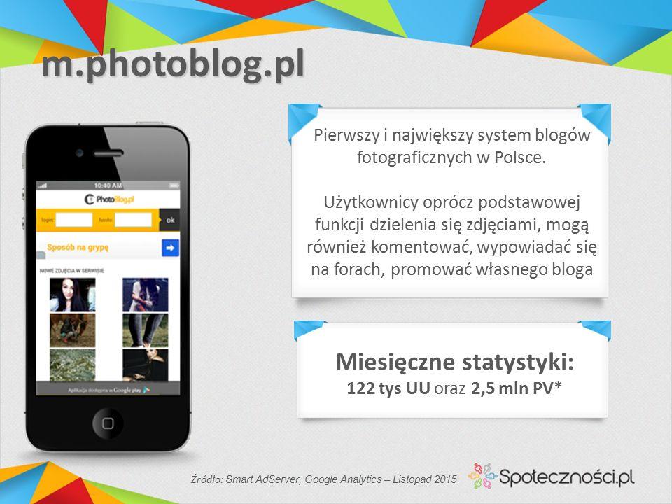 m.photoblog.pl Pierwszy i największy system blogów fotograficznych w Polsce.