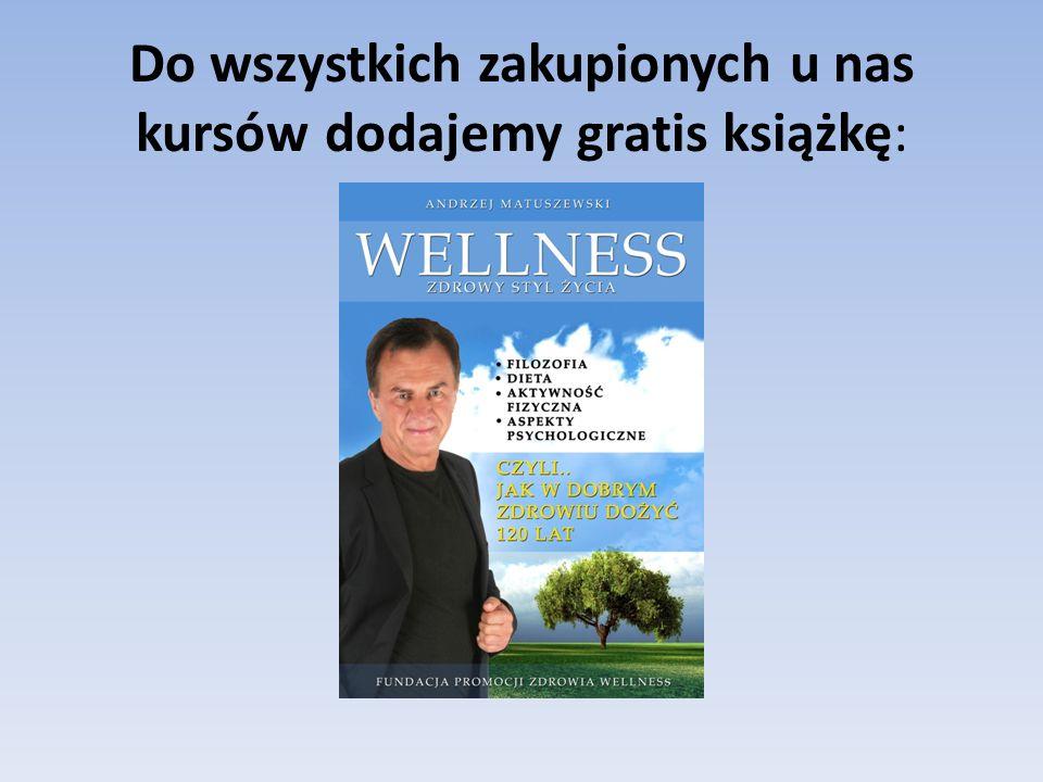 Do wszystkich zakupionych u nas kursów dodajemy gratis książkę: